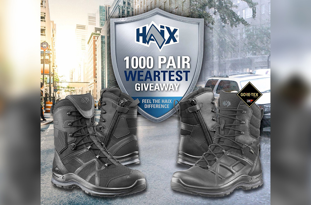 Feel the HAIX Difference: HAIX® is looking for 1000 wear